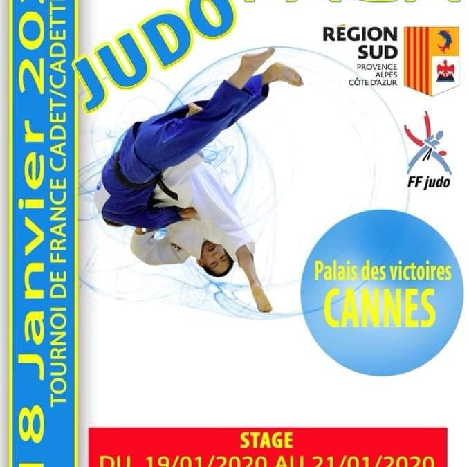 Tournoi de France cadets a Cannes